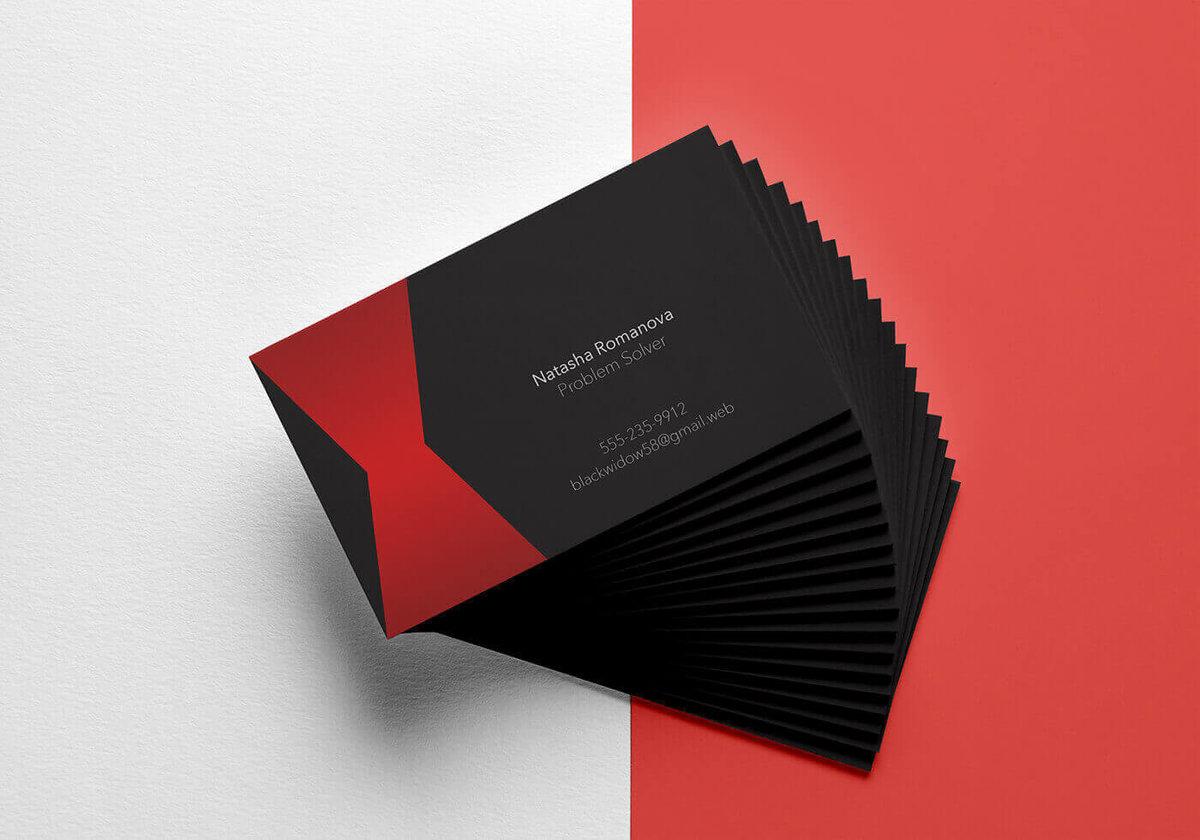 10 лучших советов по дизайну собственных визиток